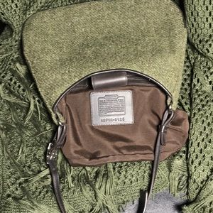 COACH Green Tweed Bag